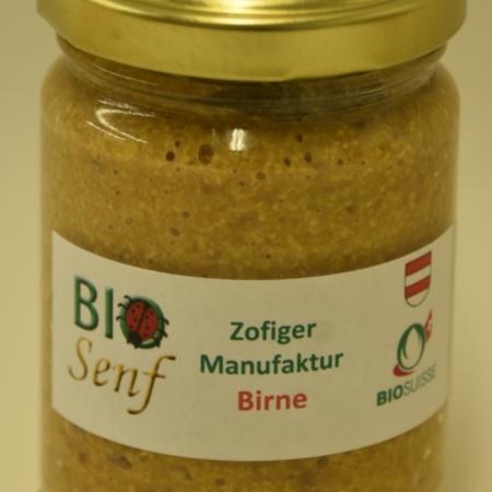 Zofiger Manufaktur Bio-Senf Birne