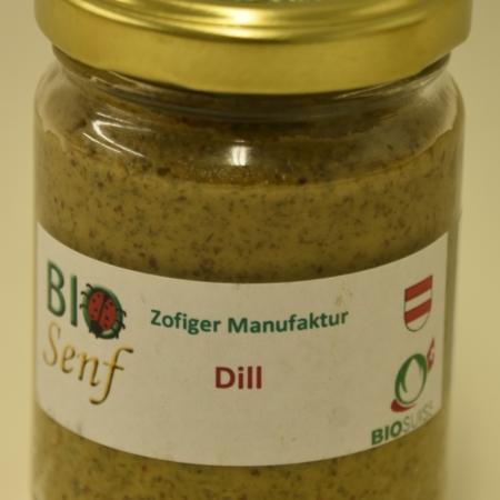 Zofiger Manufakur Bio-Senf Dill