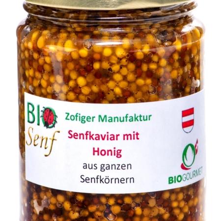 Bio Senfkaviar mit Honig