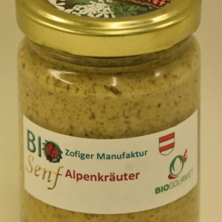 Alpenkräuter Senf BioGourmet