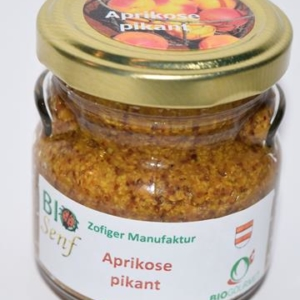 Zofiger Bio-Senf Aprikose pikant
