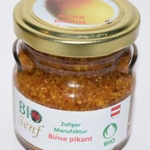 Zofiger Bio-Senf Birne scharf