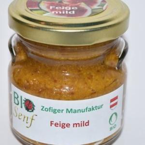 Zofiger Bio-Senf Feige mild