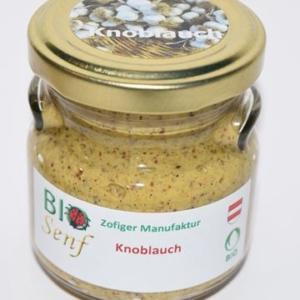 Zofiger Bio-Senf Knoblauch