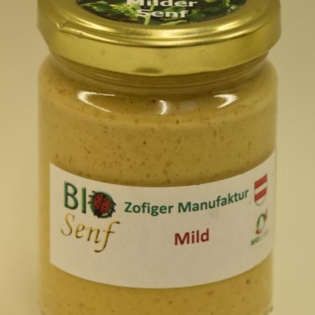 Bio-Senf mild