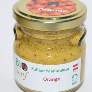 Zofiger Bio-Senf Orange