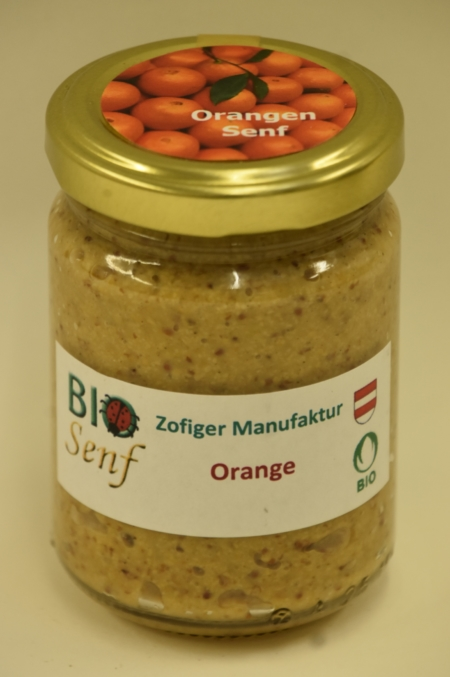 Zofiger Manufaktur Bio-Senf Orange