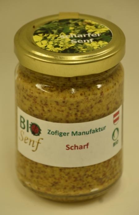 Zofiger Manufaktur Bio-Senf scharf