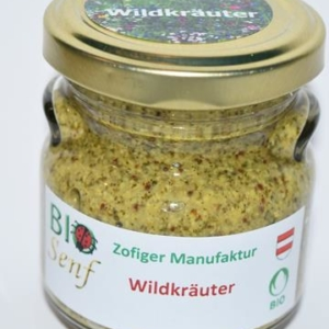 Zofiger Bio-Senf Wildkräuter
