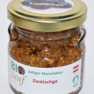Zofiger Bio-Zenf Zwetschge mild