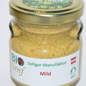Zofiger Bio-Senf mild
